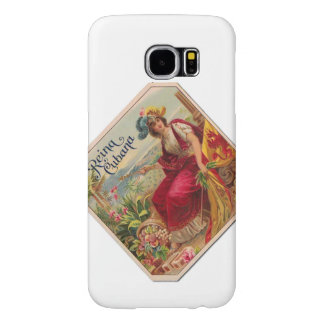 Reina of Cuba From Havana Cigarettes Vintage Samsung Galaxy S6 Case