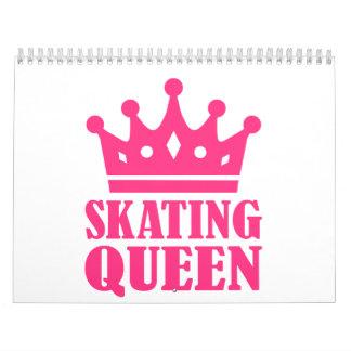 Reina patinadora calendario