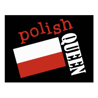 Reina polaca postal