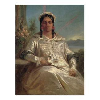 Reina Pomare IV de Tahití Postal