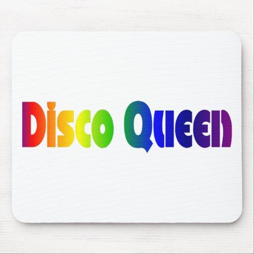 Reina retra Mousepad del disco