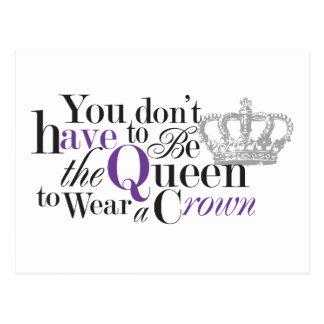 Reina sin una corona postal