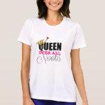 Reina sobre todo el Noobs Camisetas