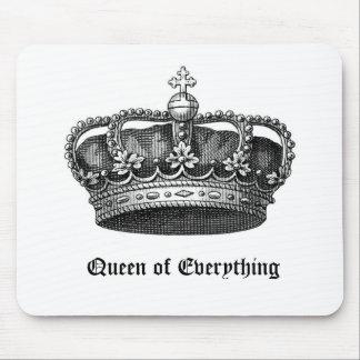 Reina todo cojín de ratón real de la corona del vi alfombrillas de ratones