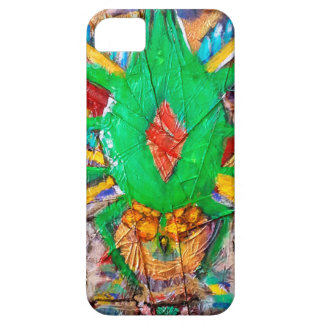 Reina verde azteca de la araña iPhone 5 fundas