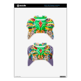 Reina verde azteca de la araña mando xbox 360 skins