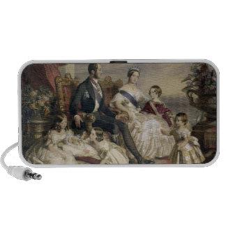 Reina Victoria (1819-1901) y Príncipe Alberto (181 Notebook Altavoces
