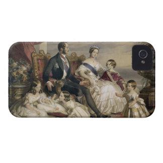 Reina Victoria (1819-1901) y Príncipe Alberto iPhone 4 Case-Mate Fundas