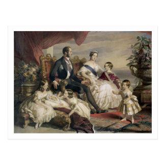 Reina Victoria (1819-1901) y Príncipe Alberto Tarjetas Postales