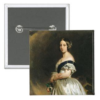 Reina Victoria 1842 Pin Cuadrado