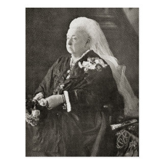 Reina Victoria c.1899 Tarjetas Postales