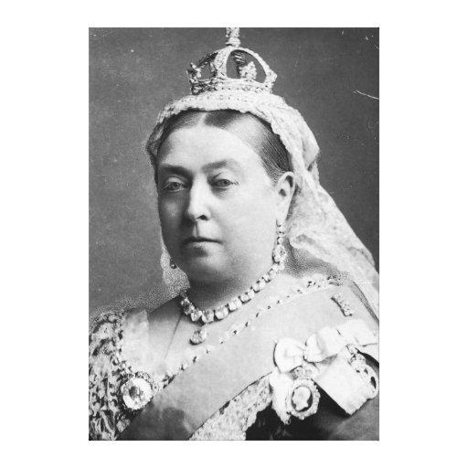 Reina Victoria de Alexander Bassano Impresion En Lona