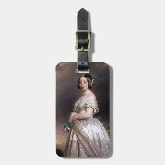 Reina Victoria de Francisco Xaver Winterhalter- Etiqueta De Maleta