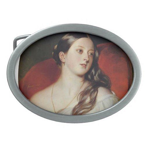 Reina Victoria de Francisco Xaver Winterhalter- Hebilla De Cinturon