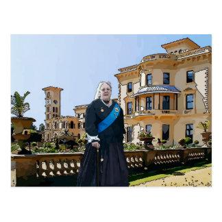Reina Victoria en la casa de Osborne Postales