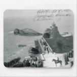 Reina Victoria en la costa francesa Alfombrillas De Ratones