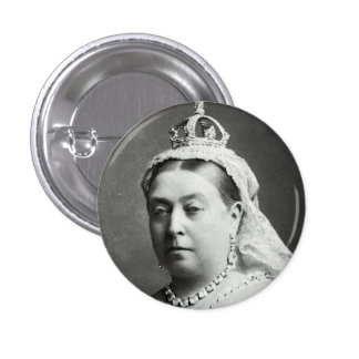 Reina Victoria Pin Redondo De 1 Pulgada