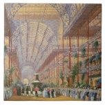 Reina Victoria que abre la exposición 1862 después Teja Cerámica