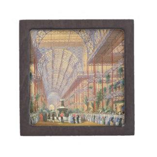 Reina Victoria que abre la exposición 1862 después Cajas De Recuerdo De Calidad