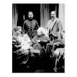 Reina Victoria, Tsar Nicolás II Tarjeta Postal