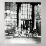 Reina Victoria y Príncipe Alberto con su Poster