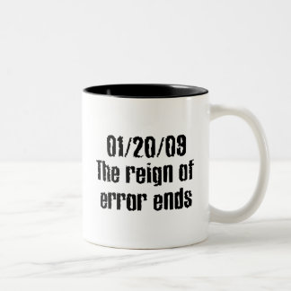 reinado de la taza del error