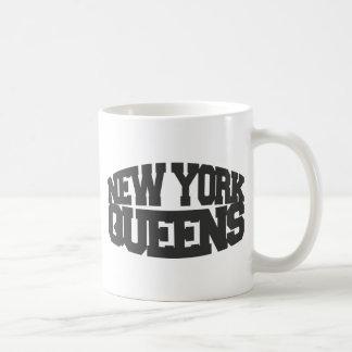 reinas de Nueva York - gris oscuro Taza De Café