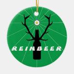 ReinBeer Beer Pong Ornament
