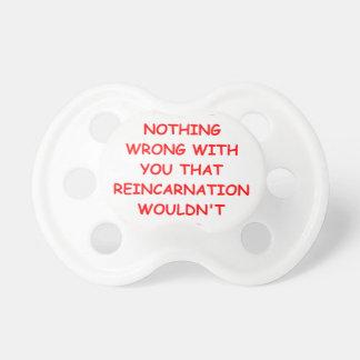 reincarnation BooginHead pacifier