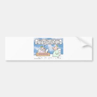 Reincarnation episcopalians and hindus bumper sticker
