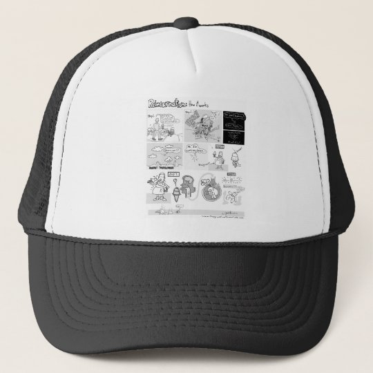 Reincarnation-- How It Works Trucker Hat