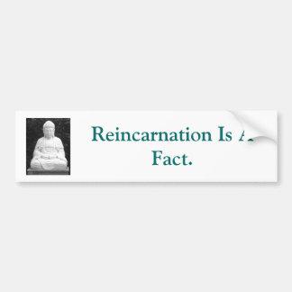 Reincarnation Is A Fact. Bumper Sticker