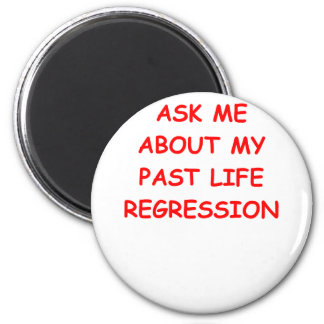 reincarnation refrigerator magnet
