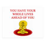 reincarnation post card