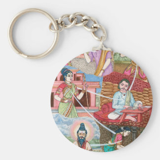 Reincarnation, We are all connected Keychain