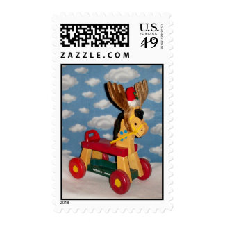 Reindeer3414x Postage Stamp