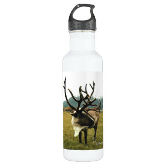 Reindeer 01 water bottle