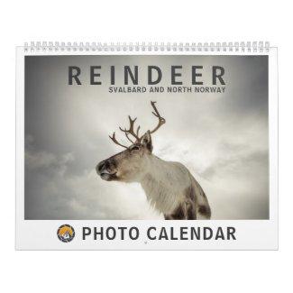 Reindeer 2022 calendar