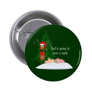 Reindeer and Grandma Button