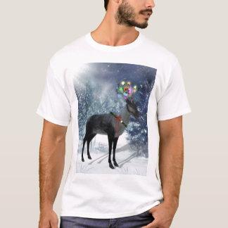 Reindeer and lights shirt