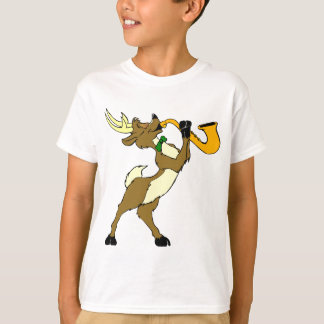 Reindeer And Saxophone T-Shirt