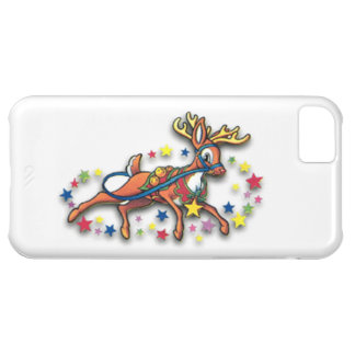 Reindeer And Stars Cover For iPhone 5C