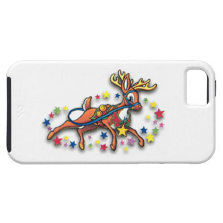 Reindeer And Stars iPhone 5 Cover