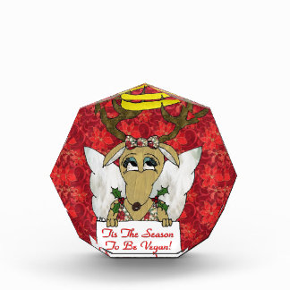 Reindeer Angel Tis The Season to Be Vegan Award