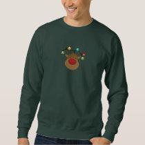 Reindeer Antler Christmas Ornaments Sweatshirt
