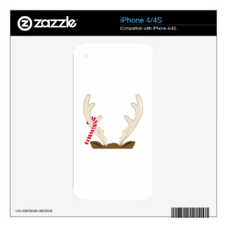 Reindeer Antler Decal For The iPhone 4