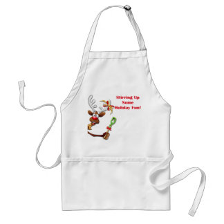 Reindeer Apron for Christmas Delivery