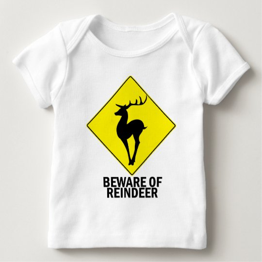 Reindeer Baby T-Shirt