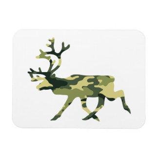Reindeer / Caribou Woodland Camouflage / Camo Magnet