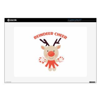 "Reindeer Cheer 15"" Laptop Decal"